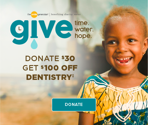Donate $30, Get $100 Off Dentistry - Tramonto Dental Group and Orthodontics